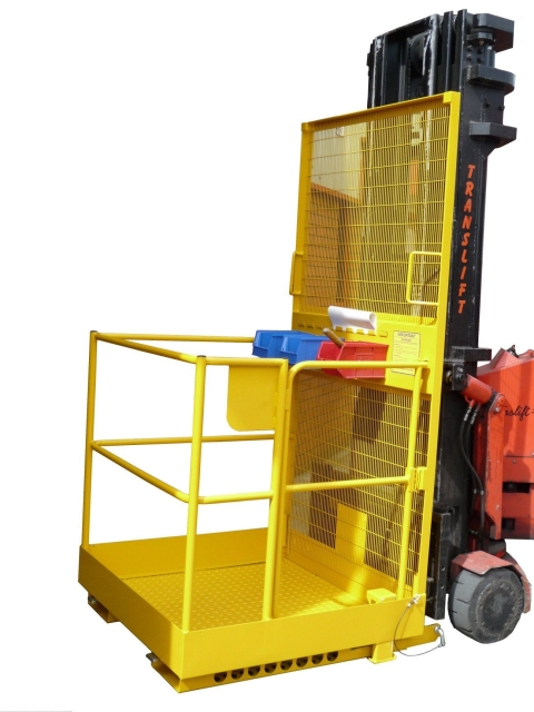 Grab-O-Matic SC2-MK3 Gated Safety Work Platform