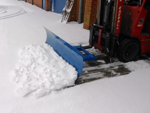 Grab-O-Matic SC4 Snow Plough/Grader
