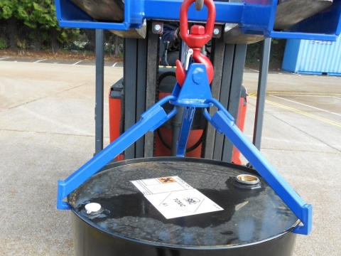 Grab-O-Matic VDS-1 Crane Slung Vertical Drum Sling