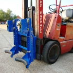 Heel Fitting 2 drum with rubber fenders