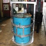 Crane Slung Galvanised Drum Cage