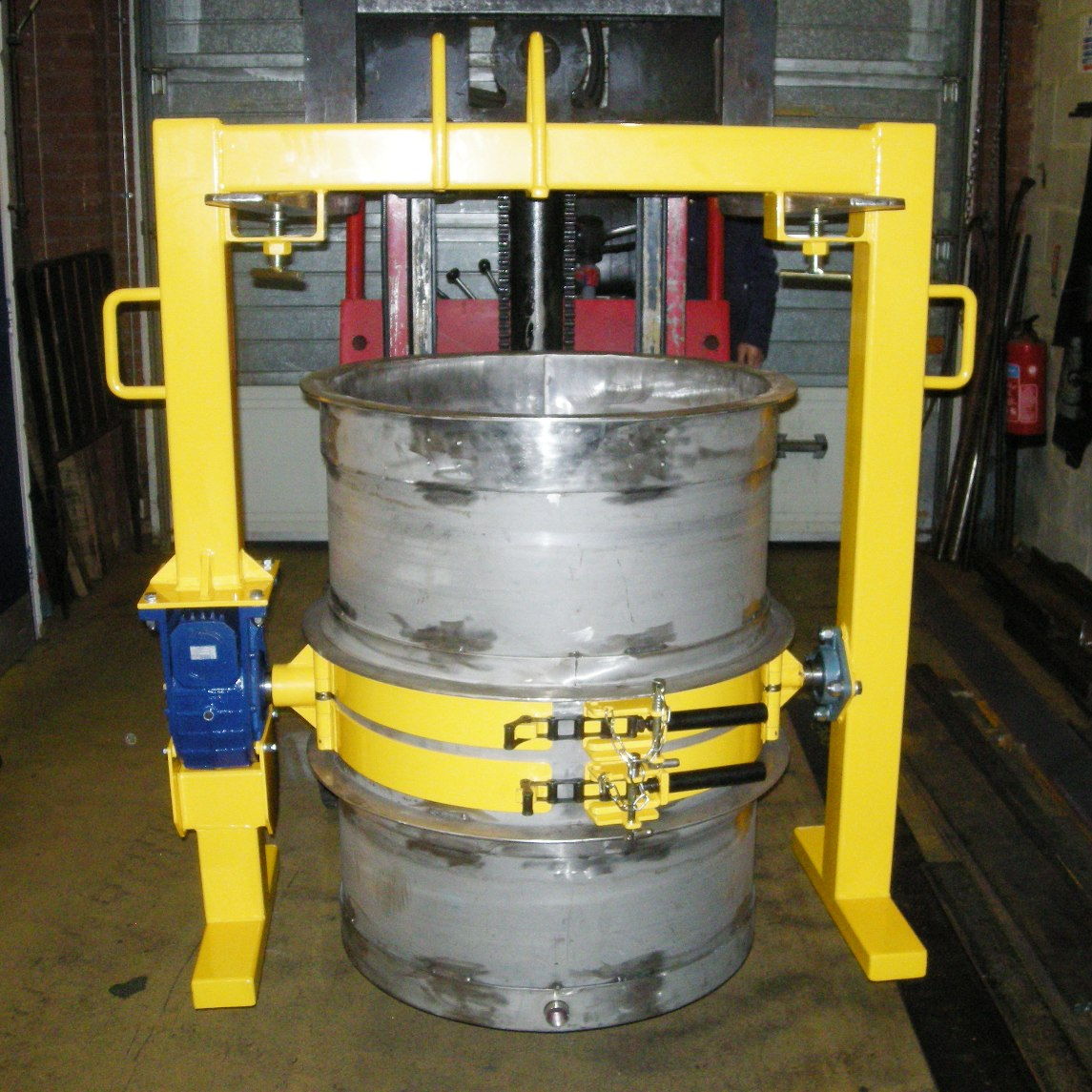 SC10 OH Heavy Duty Special Drum Rotator