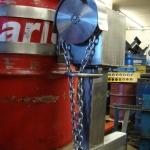 SC10-OH- St-Steel Drum Rotator