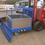 Snow Plough with Tool Cage