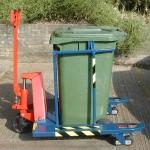 Special Pallet Truck Wheelie Bin Transfer Unit