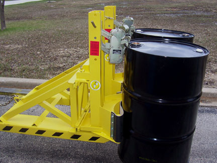 Liftomatic Forklift Mounted Drum Handlers