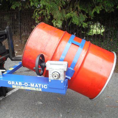 Grab-O-Matic Drum Rotators For Hire
