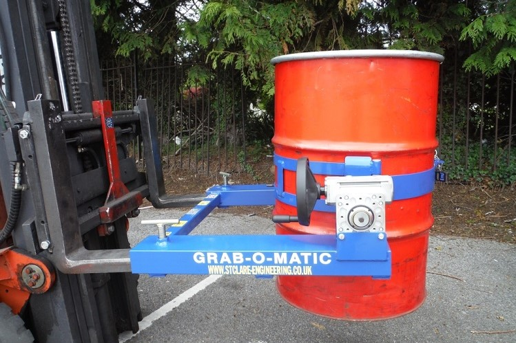 Why anyone in the business of moving barrels and drums safely should use the Grab-O-Matic system