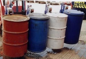 fork lift truck drum handling attachments
